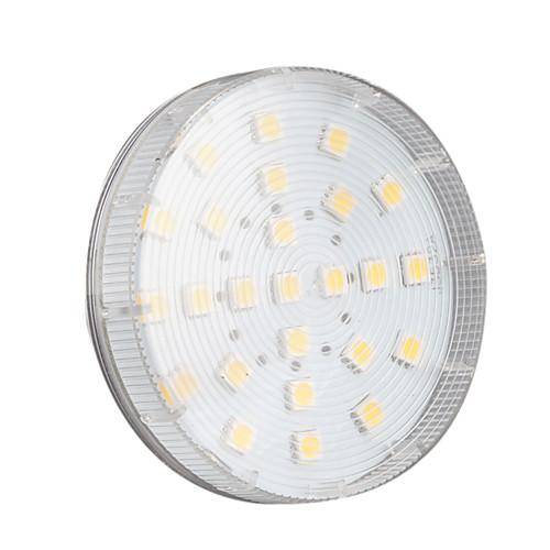4W 250-300lm GX53 Точечное LED освещение 25 Светодиодные бусины SMD 5050 Тёплый белый 220-240V