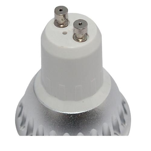3W GU10 Точечное LED освещение MR16 1 COB 260-300 lm Тёплый белый Диммируемая AC 220-240 V от MiniInTheBox.com INT