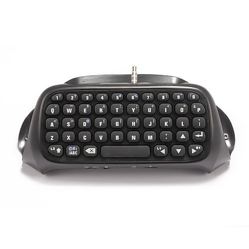 KingHan Bluetooth Мышки и клавиатуры - PS4 Bluetooth Мини Игровые манипуляторы Перезаряжаемый Клавиатура Беспроводной