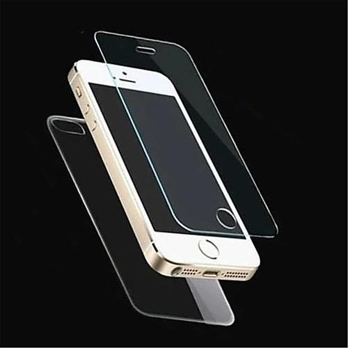 Защитная пленка из закаленного стекла для IPhone 5 / 5S, передняя и задняя пленка (0.26mm), 2.5D от MiniInTheBox.com INT