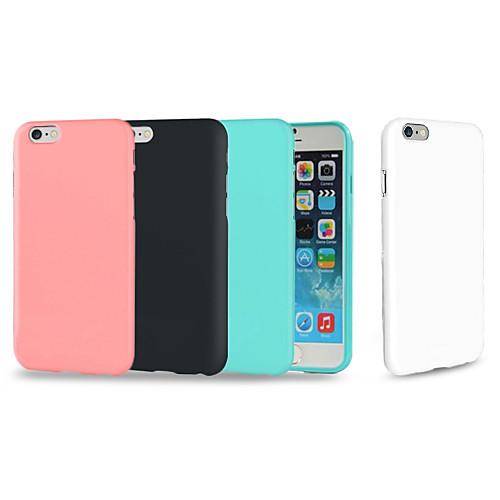 Кейс для Назначение Apple iPhone 8 iPhone 8 Plus iPhone 6 iPhone 6 Plus iPhone 7 Plus Защита от удара Кейс на заднюю панель Сплошной цвет