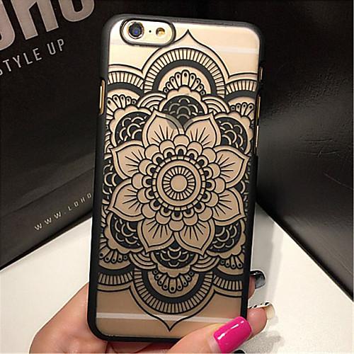 Ретро цветочный узор рельеф ажурные печать материал ПК телефон случае для iphone 6с 6 плюс