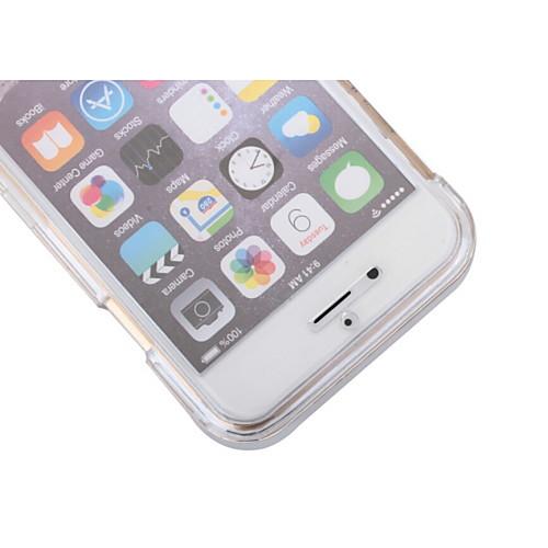 Для Кейс для iPhone 6 / Кейс для iPhone 6 Plus Защита от удара / Прозрачный Кейс для Чехол Кейс для Один цвет Твердый PCiPhone 6s Plus/6 от MiniInTheBox.com INT