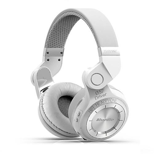 Bluedio Над ухом / Головная повязка Беспроводное Наушники пластик Игры наушник С регулятором громкости / С микрофоном / Шумоизоляция тепло и шумоизоляция
