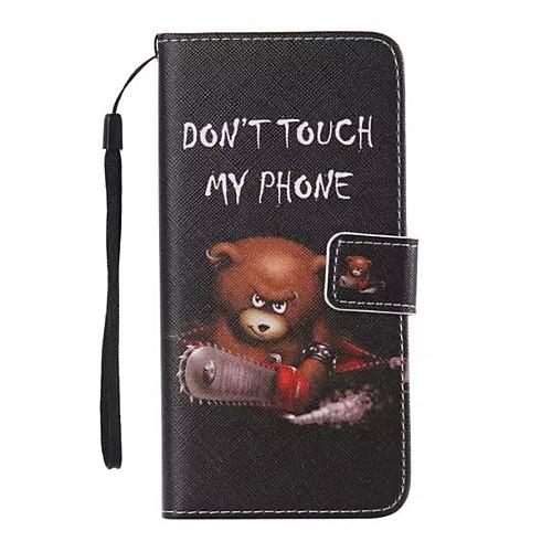 Кейс для Назначение Apple iPhone X iPhone 8 iPhone 8 Plus Кейс для iPhone 5 Бумажник для карт Кошелек со стендом Флип С узором Чехол чехол для iphone 4 глянцевый с полной запечаткой printio эфиопка