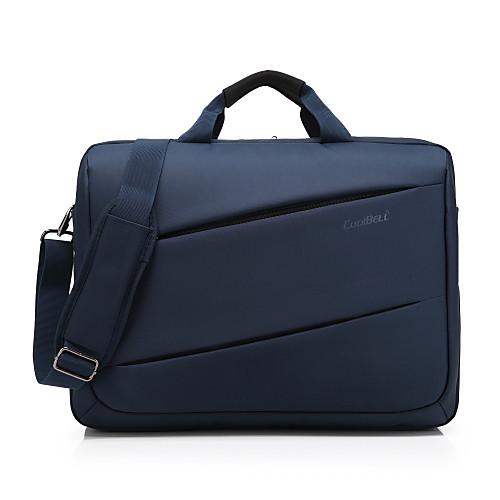 17.3-дюймовый ноутбук сумка водонепроницаемая ткань Оксфорд с ремешком ноутбук сумка ручной сумки для Macbook / Dell / HP / Lenovo, и т.д. ноутбук