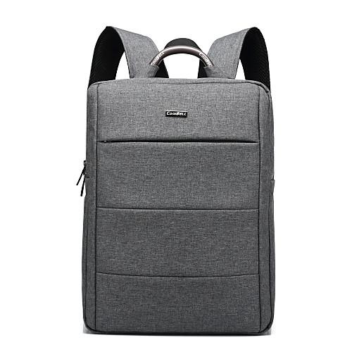 15,6-дюймовый водонепроницаемый ноутбук рюкзак унисекс ранец рюкзак путешествия мешок школы рюкзак для Macbook / Dell / л, и т.д. детская футболка классическая унисекс printio король панда