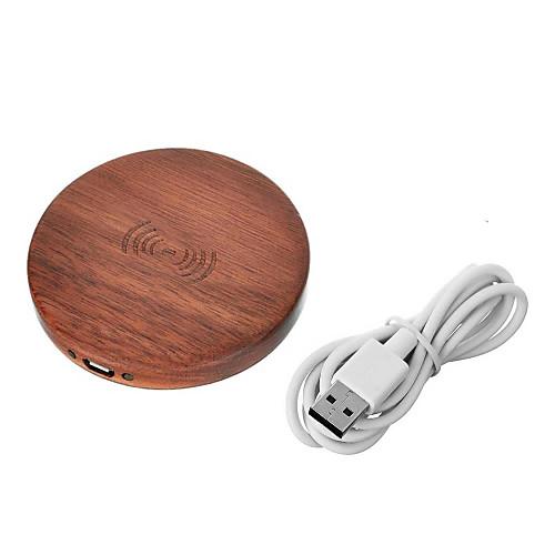Cwxuan Беспроводное зарядное устройство Зарядное устройство USB Стандарт США / Евро стандарт / Стандарт Великобритании 1 USB порт 1 A DC 5V для / Стандарт Австралии фото