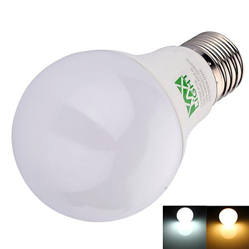 YWXLIGHT 1шт 9 W 800 lm E26 / E27 Круглые LED лампы A60(A19) 22 Светодиодные бусины SMD 2835 Декоративная Тёплый белый / Холодный белый 100-240 V / 1 шт. / RoHs