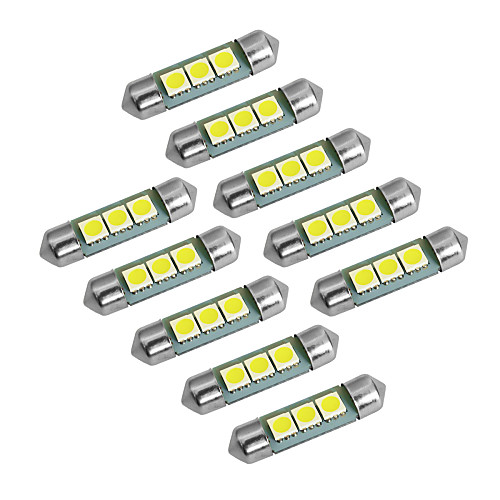 YouOKLight 10 шт. Фестон / T10 Лампы SMD 5050 60lm Лампа поворотного сигнала For Универсальный цена