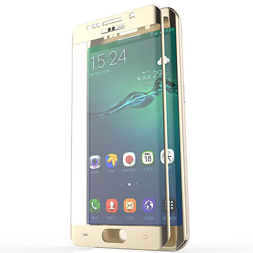 Защитная плёнка для экрана Samsung Galaxy для S7 edge S6 edge plus S6 edge Закаленное стекло Защитная пленка для экрана 2.5D закругленные аксессуар защитная пленка samsung g925f galaxy s6 edge ainy матовая