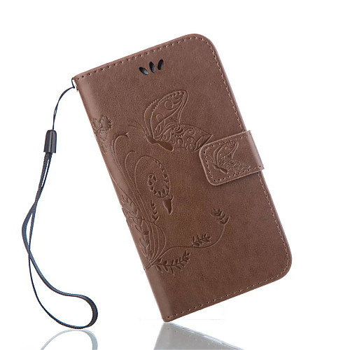Кейс для Назначение SSamsung Galaxy Кейс для Samsung Galaxy Бумажник для карт Кошелек со стендом Флип Рельефный Чехол Бабочка Кожа PU для клип кейс ibox fresh для samsung galaxy s5 mini черный