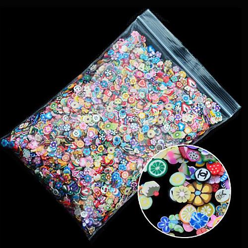 1 pcs Украшения для ногтей / 3D-стикеры для ногтей Дизайн ногтей Мода Милый Повседневные