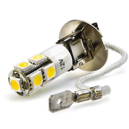 2pcs H3 Автомобиль Лампы 7W SMD 5050 680lm 7 Светодиодная лампа Противотуманные фары h3 led белый dc 12v день вождения 7 5 вт super car противотуманные фары лампочки авто