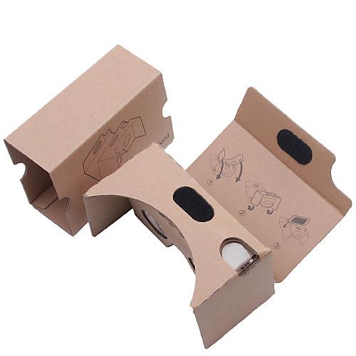 поделки из картона виртуальной реальности 3d очки вр Tookit (обновленная версия 34мм объектив)
