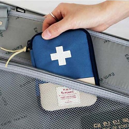 Купить со скидкой Дорожный кейс для медикаментов Компактность Хранение в дороге для Компактность Хранение в дороге Кра