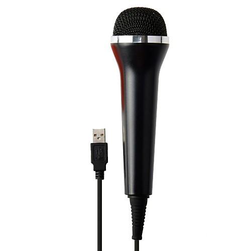 P4-MP0001B Проводное Микрофон Назначение Sony PS3 / Xbox 360 / Sony PS2 , Микрофон Металл / ABS 1 pcs Ед. изм игра для xbox just dance 2018
