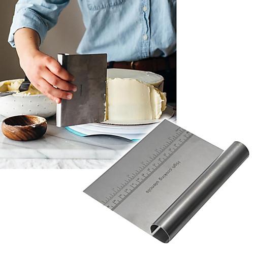 Инструменты для выпечки Нержавеющая сталь Хлеб / Торты / Шоколад Выпечка и кондитерские шпатели 1шт