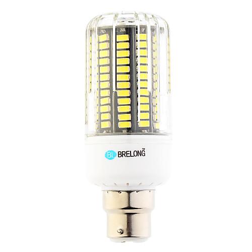 12W 1000 lm B22 LED лампы типа Корн T 136 светодиоды SMD Тёплый белый Холодный белый AC 220-240V