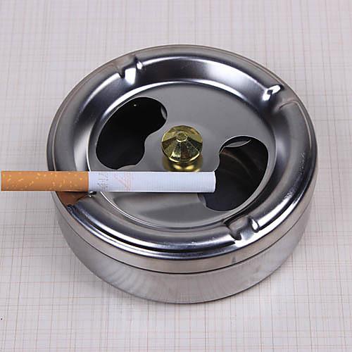 нержавеющая сталь крышка пепельницы вращение практическое курение полностью закрытых домашние гаджеты