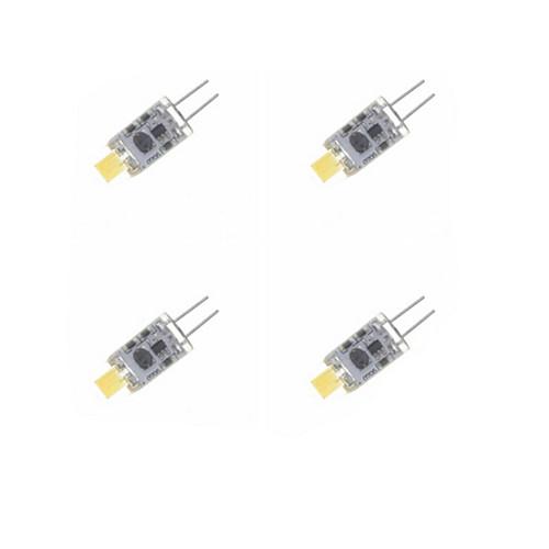 SENCART Точечное LED освещение 240-280 lm G4 MR11 1 Светодиодные бусины Integrate LED Водонепроницаемый Диммируемая Декоративная Тёплый белый Холодный белый 12 V / 4 шт. / RoHs