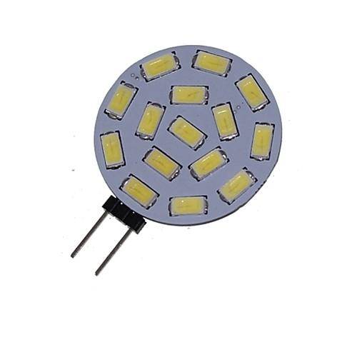 5 Вт. 3000-3500/6000-6500 lm G4 Точечное LED освещение MR11 15 светодиоды SMD 5730 Декоративная Тёплый белый Холодный белый DC 24 В AC цена