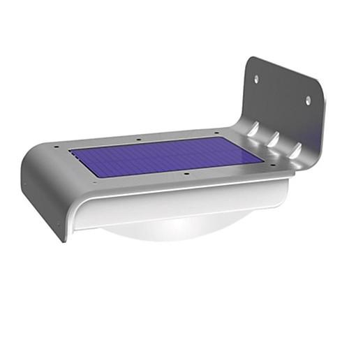 Водонепроницаемая лампа на солнечной энергии с датчиком движения, с 16 лампочками, для сада <br>