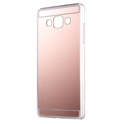 Кейс для Назначение SSamsung Galaxy Кейс для Samsung Galaxy Зеркальная поверхность Кейс на заднюю панель Однотонный Акрил для A7(2016) / A5(2016) / A3(2016)