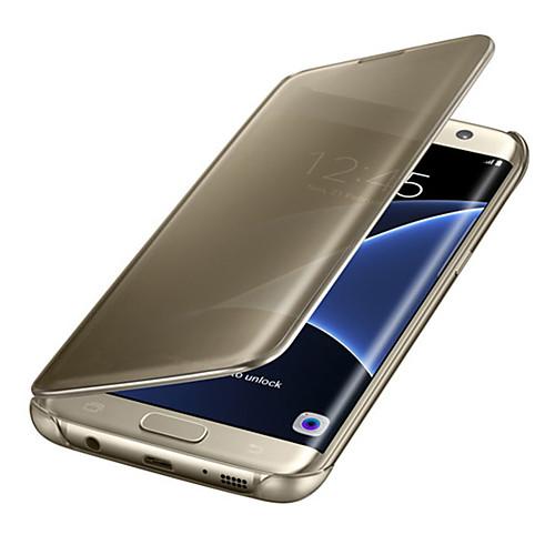 Кейс для Назначение SSamsung Galaxy Samsung Galaxy Note7 С функцией автовывода из режима сна Флип Ультратонкий Полупрозрачный Чехол чехол для для мобильных телефонов rcd 4 samsung 4 for samsung galaxy note 4 iv