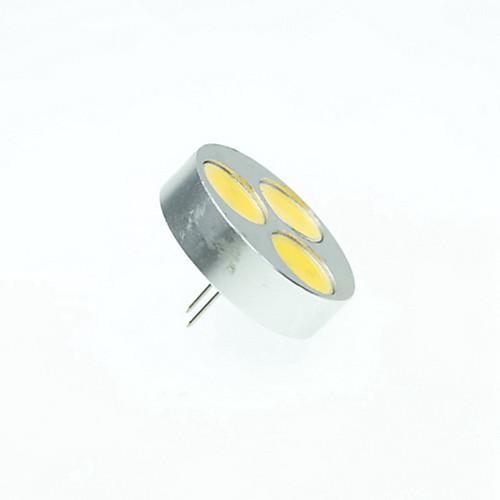 SENCART 4 Вт. 3000/6000/6500 lm G4 Точечное LED освещение MR11 3 светодиоды COB Диммируемая Тёплый белый Холодный белый Естественный белый