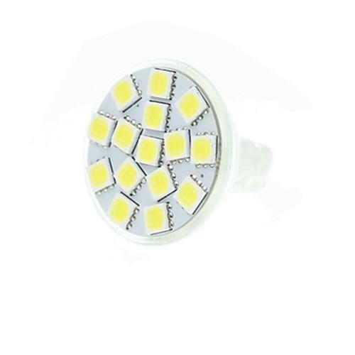 SENCART 5 Вт. 3500/6000/6500 lm GU4(MR11) Точечное LED освещение MR11 15 светодиоды SMD 5060 Диммируемая Декоративная Тёплый белый