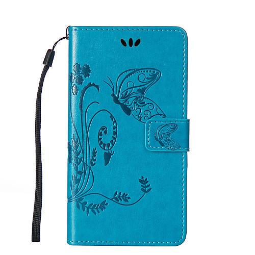 Кейс для Назначение LG LG K10 LG K7 LG G4 Кейс для LG Бумажник для карт Кошелек со стендом Флип Рельефный Чехол Бабочка Твердый Кожа PU кейс для назначение lg lg k4 lg k10 lg k7 lg g5 lg g4 кейс для lg бумажник для карт кошелек стразы со стендом флип рельефный чехол цветы
