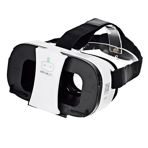 fiit вр 2s виртуальной реальности 3D видео очки шлем - белый  черный