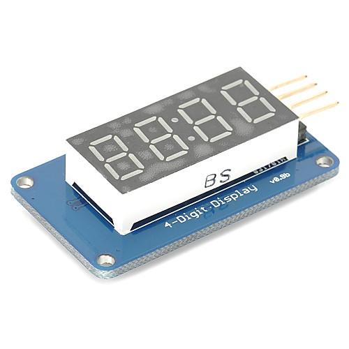 4 бита цифровой трубки водить модуль дисплея с часами дисплея tm1637 для Arduino Raspberry Pi фото