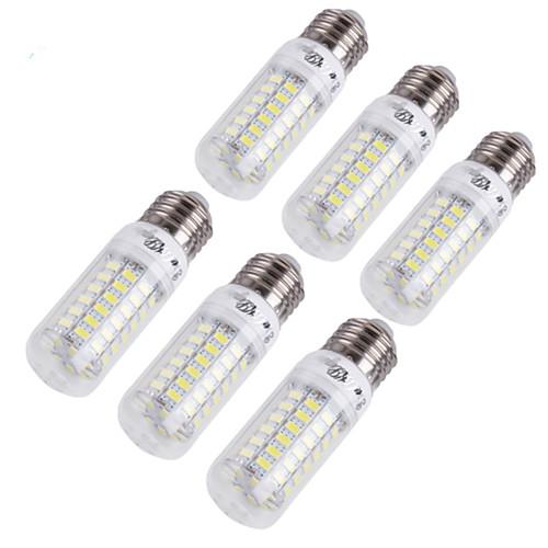 &lt;YouOKLight 6PCS E14 / E27 4W 280lm CRI&gt; 80 3000K / 6000K 69  SMD5730 Светодиодные лампы Corn (110-120В / 220-240В) <br>