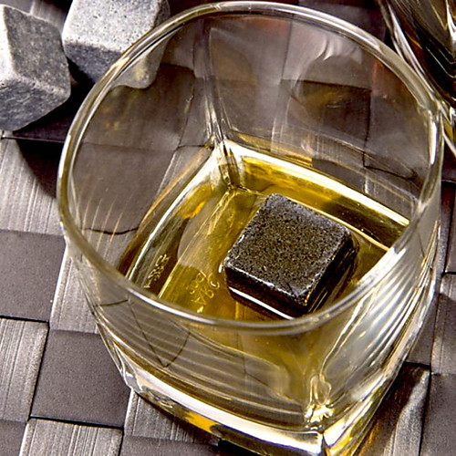 1шт натуральный камень виски потягивая кубик льда виски