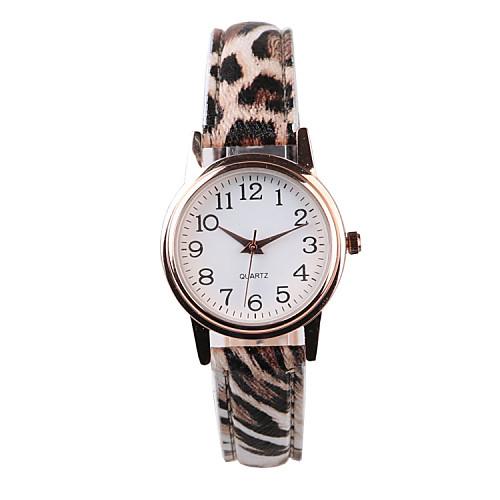 Жен. Наручные часы Горячая распродажа PU Группа Матовый черный / Мода Разноцветный