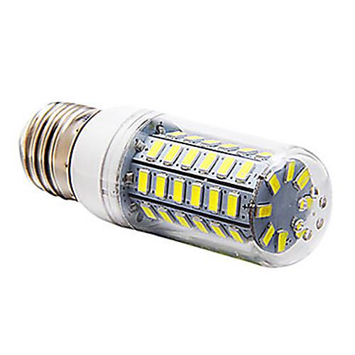 5 Вт. 300-350 lm E14 G9 E26/E27 LED лампы типа Корн T 56 светодиоды SMD 5730 Тёплый белый Холодный белый AC 220-240V