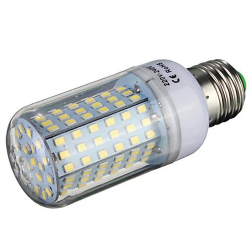 Ywxlight 1 шт. E14 / e26 / e27 / b22 6w 126smd 2835 600-700lm теплый белый / холодный белый светодиод ac220-240v <br>