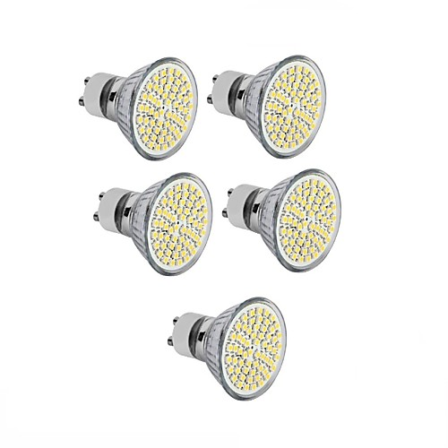 5 шт. 3.5W 300-350 lm GU10 GU5.3(MR16) E26/E27 Точечное LED освещение MR16 60 светодиоды SMD 2835 Декоративная Тёплый белый Холодный белый