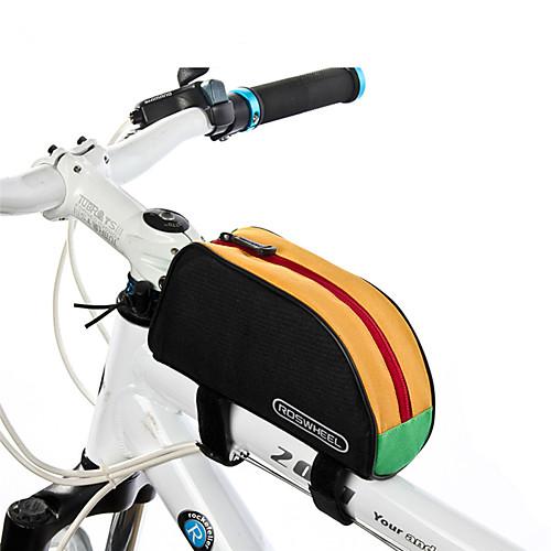 все цены на ROSWHEEL 1 L Бардачок на раму / Верхняя сумка для трубки Влагонепроницаемый, Пригодно для носки, Ударопрочность Велосумка/бардачок ПВХ / 600D полиэстер Велосумка/бардачок Велосумка онлайн
