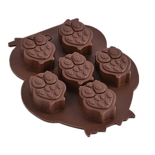 1шт Силикон Экологичные Новый год Торты Печенье Пироги Животный принт выпечке Mold Инструменты для выпечки