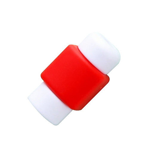 iphone кабель протектор, кабель органайзера для смартфона кабель (1 шт случайный цвет)