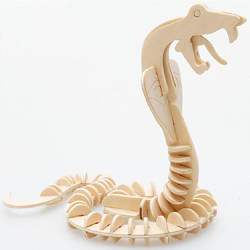 3D пазлы Пазлы Деревянные пазлы Утка Змея Веселье Удобный Дерево Подарок деревянные игрушки alatoys пазлы лошадки