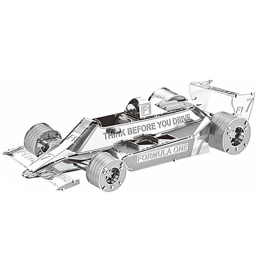 3D пазлы Пазлы Металлические пазлы Автомобиль Своими руками Металл Гоночная машинка Подарок 3d пазлы