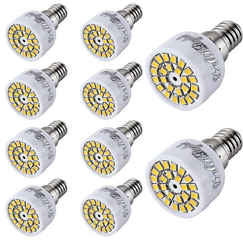 2 Вт. 150-200 lm E14 Точечное LED освещение T 24 светодиоды SMD 2835 Декоративная Тёплый белый Холодный белый AC 220-240V