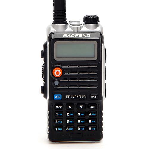 Фото BAOFENG BF-UVB2 PLUS Радиотелефон Для ношения в руке Цифровой Голосовые подсказки Двойной диапазон Двойной дисплей Двойной режим ожидания радиотелефон