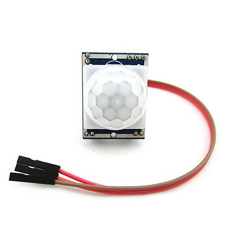 пироэлектрическая модуль инфракрасный детектор движения PIR датчик для Arduino
