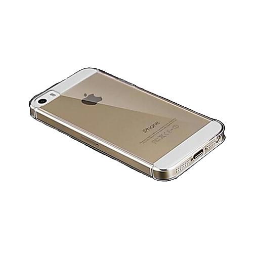 iphone 7 плюс слойного прозрачно ясный трудный случай для iphone 5 / 5s от MiniInTheBox.com INT