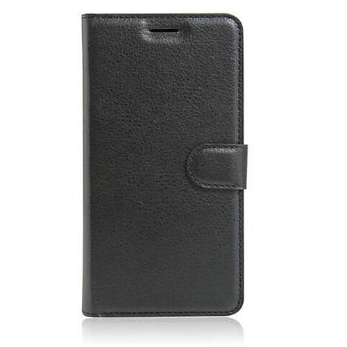 Кейс для Назначение Asus Кейс для Asus Бумажник для карт со стендом Флип Чехол Сплошной цвет Твердый ТПУ для Asus ZenFone 3 (ZE552KL)(5.5) чехол soft touch для asus zenfone 3 ze552kl df aslim 17